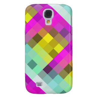 Het koele & Populaire Neon Gekleurde Patroon van Galaxy S4 Hoesje