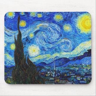 Het koele Sterrige schilderen van Vincent van Gogh Muismat