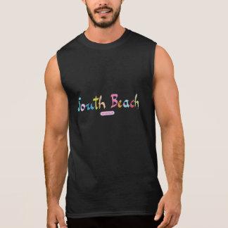 Het koele Strand van het Zuiden - Miami, Florida T Shirt