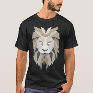 Het koele Veelhoekige Portret van de Leeuw T Shirt