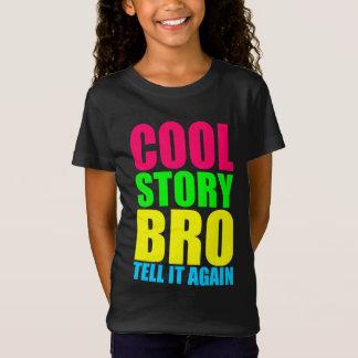 Het Koele Verhaal Bro van het neon T Shirt