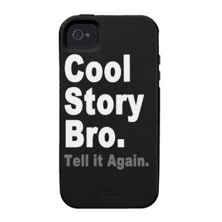 Het koele Verhaal Bro vertelt het opnieuw het Grap Case-Mate iPhone 4 Cover