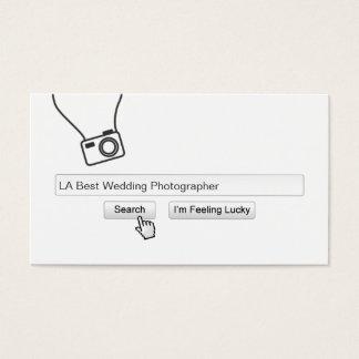 Het koele Visitekaartje van de Fotografie van het Visitekaartjes