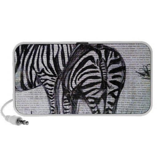 Het koesteren van Zebras Laptop Speaker