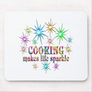 Het koken Fonkelingen Muismat