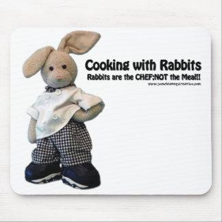Het koken met Konijnen - het Stootkussen van de Mu Muismat