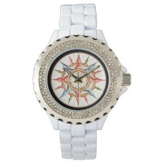 het kompas/de wind nam toe horloges
