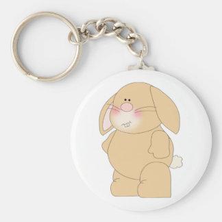 Het Konijn Keychain van het konijntje Sleutelhanger