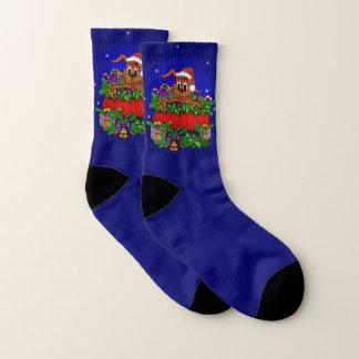 Het Konijn van Kerstmis Sokken