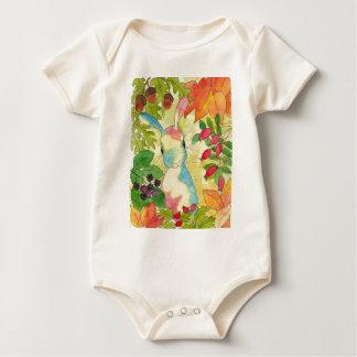 Het Konijntje van de herfst door het Art. van de Baby Shirt