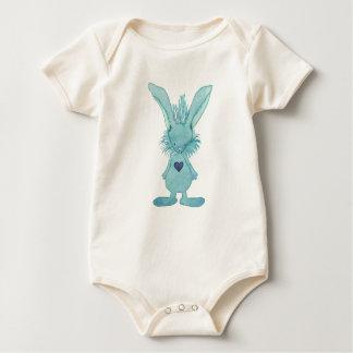 Het Konijntje van de Liefde van het baby Baby Shirt