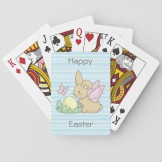 Het Konijntje van de vlinder en het Paasei Pokerkaarten