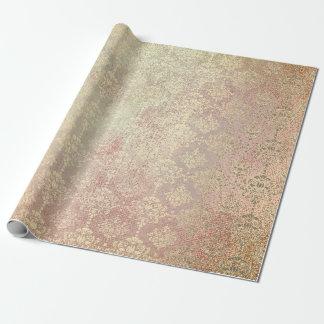Het koninklijke Gouden Koper nam de MetaalPrinses Inpakpapier