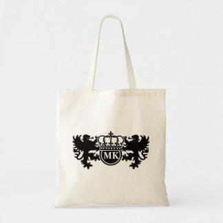 Het koninklijke Monogram van de Leeuw Draagtas