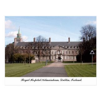 Het koninklijke Ziekenhuis Kilmainham, Dublin Briefkaart