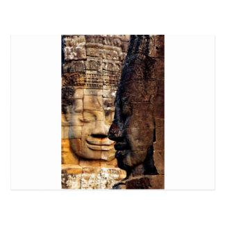 Het Koninkrijk Kambodja van Angkor van de Briefkaart