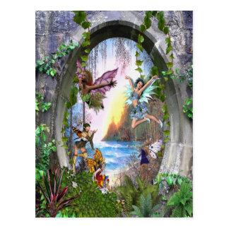 Het Koninkrijk van de fee Briefkaart
