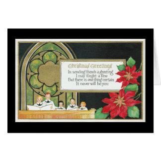 Het Koor van de Jeugd van Kerstmis, Kerk, Kaart