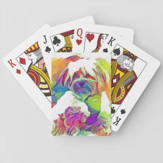Het Koper van het Effect van de regenboog de Speelkaarten