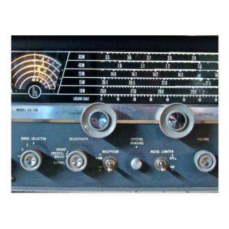 Het korte Briefkaart van de RadioOntvanger van de