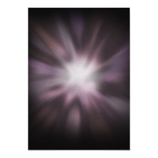 Het kosmische Kunstwerk van de Uitbarsting 12,7x17,8 Uitnodiging Kaart