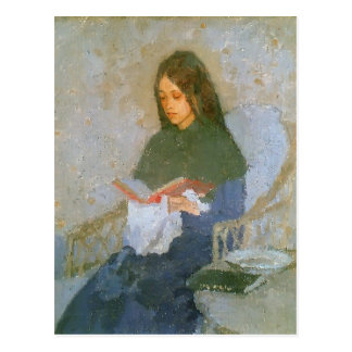 Het kostbare Boek door Gwen John Briefkaart