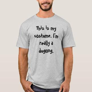 Het Kostuum van Dugong T Shirt