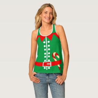 Het Kostuum van het Elf van Santas van de Tanktop