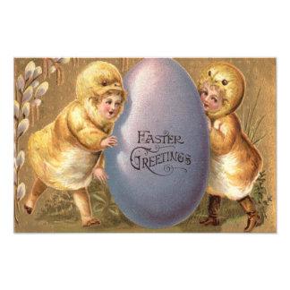 Het Kostuum van het Kuiken van Pasen kleurde Foto Print