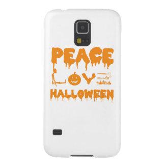 Het kostuumt-shirt van Halloween van de liefde met Galaxy S5 Hoesje