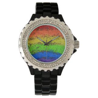 Het Krijt van de Stoep van de Regenboog van Grunge Horloges