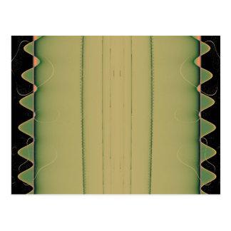 Het krokodille Briefkaart van de Staart