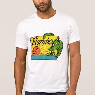 het KrokodilleOntwerp van Florida van jaren '50 T Shirt