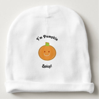 Het Kruidige | Baby Beanie van pompoen Baby Mutsje