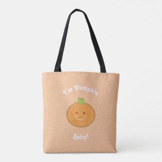 Het Kruidige | Canvas tas van pompoen