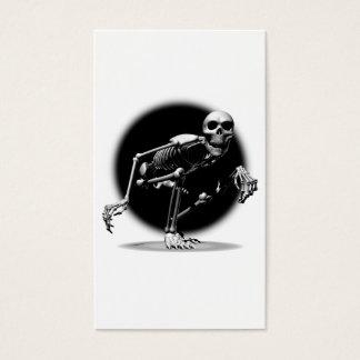 Het Kruipen van het skelet Visitekaartjes