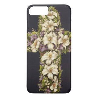 Het Kruis van de Lelie van Pasen iPhone 8/7 Plus Hoesje