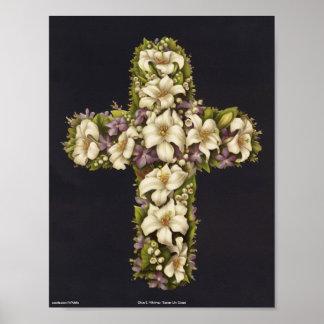 Het Kruis van de Lelie van Pasen Poster