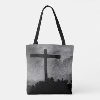 Het Kruis van de opdracht helemaal over bolsa van Draagtas