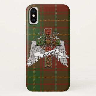 Het Kruis van het Geruite Schotse wollen stof van iPhone X Hoesje