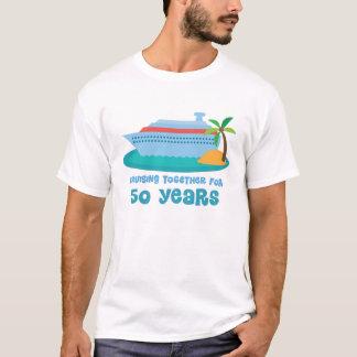 Het kruisen samen 50 Jaar van de Gift van het T Shirt