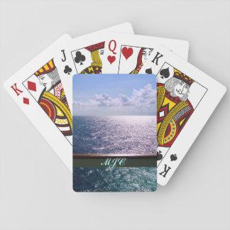 Het kruisen van het OceaanBlauw Pokerkaarten