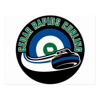 Het Krullen van Cedar Rapids Briefkaart