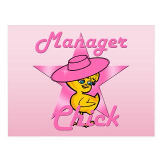 Het Kuiken van de manager #8 Briefkaart