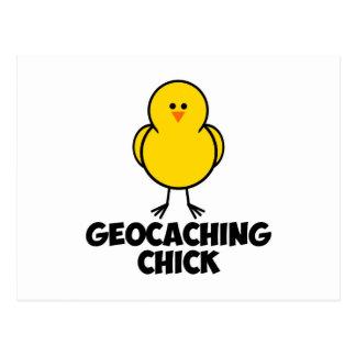 Het Kuiken van Geocaching Briefkaart