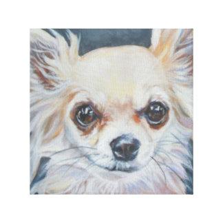 Het Kunstwerk van Chihuahua Canvas Afdrukken