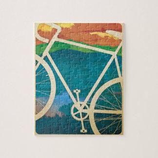 Het Kunstwerk van de fiets - RAADSEL met Tin - NY  Puzzel