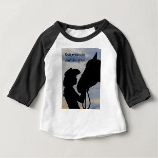 Het Kussen van het meisje Paard Baby T Shirts