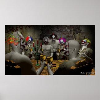 Het kwade Banket van de Clown Poster