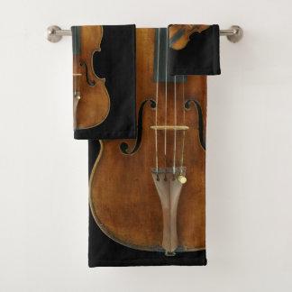 Het Kwintet van de Viool van de Stradivarius Bad Handdoek